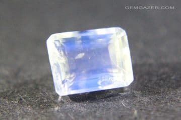 Orthoclase Moonstone, faceted, India.  1.56 carats.  ** SOLD **