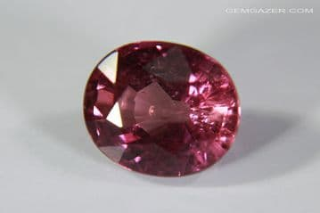 Pink Sapphire, faceted, Madagascar. 1.57 carats.
