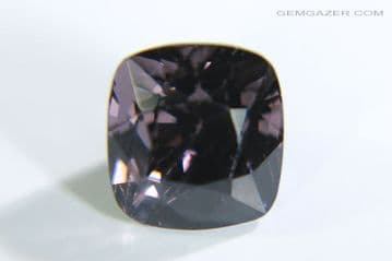 Purple-grey Spinel, faceted, Myanmar. 2.72 carats.