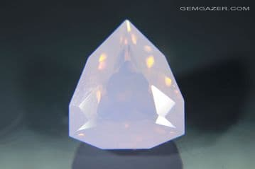 Purple Rose Amethyst, faceted, Bolivia. 10.43 carats (Video)