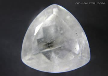 Quartz with Brookite inclusions, faceted, Brazil.  78.66 carats.