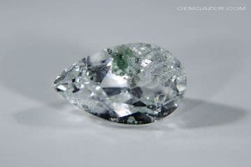 Quartz with Clinochlorite inclusions, faceted, Brazil. 2.72 carats. ** SOLD **