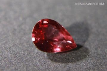 Ruby, faceted, Madagascar. 0.74 carat.