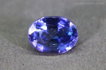 Sapphire doublet composite, faceted. 2.18 carats. ** SOLD **