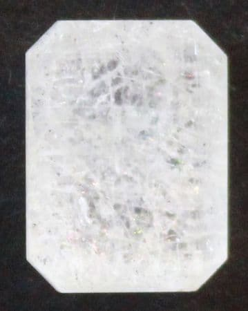 Satin-Flash Hyalite Opal, Faceted,  Mexico.   3.49 carats.