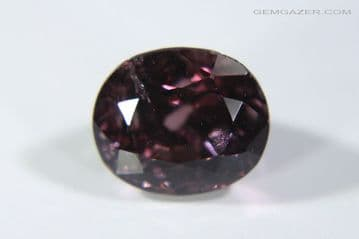 Spinel, pinkish-purple faceted, Myanmar. 2.15 carats.