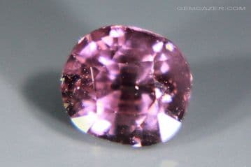 Spinel, purple-pink faceted, Tanzania. 1.10 carats.