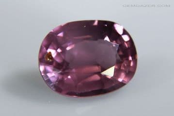 Spinel, purple-pink faceted, Tanzania. 1.45 carats.