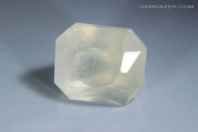 Witherite, faceted, United Kingdom. 5.04 carats.  ** SOLD **