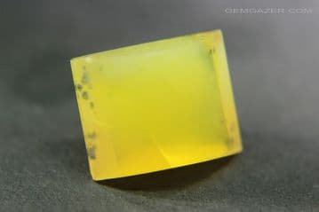 Yellow Fire Opal, faceted, Mexico. 6.19 carats.