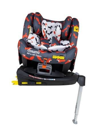 All In All Rotate Car Seat Charcoal Mr Fox