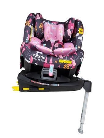 All In All Rotate Car Seat Unicorn Land