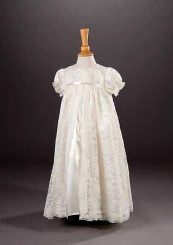 Anya Christening Gown and Bonnet