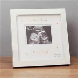 Baby Scan Frame - 'Its a Boy'