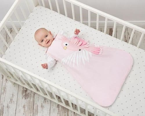 Bizzi Growin Sleeping Bag - Pippa Parrot