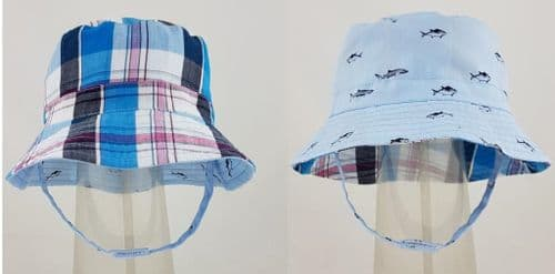 Boys Reversible  Sun Hat