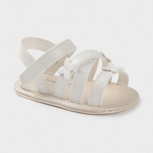 Butterfly Sandals - White