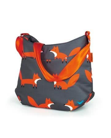 Changing Bag Charcoal Mister Fox