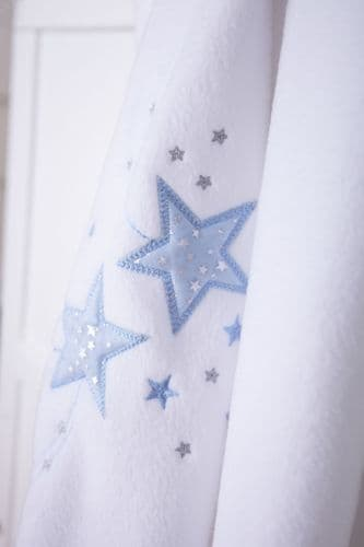 Fleece Blanket with Shooting Stars