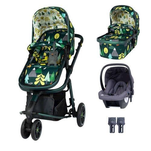 Giggle 3 Travel System,  Into The Wild with Graphite Hold Car Seat.