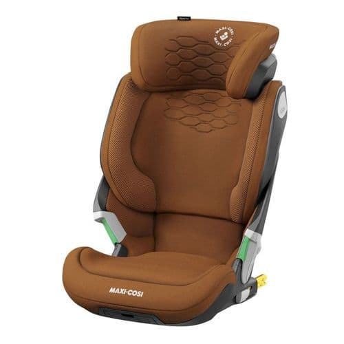 Kore Pro i-Size isofix Booster Car Seat Authentic Cognac
