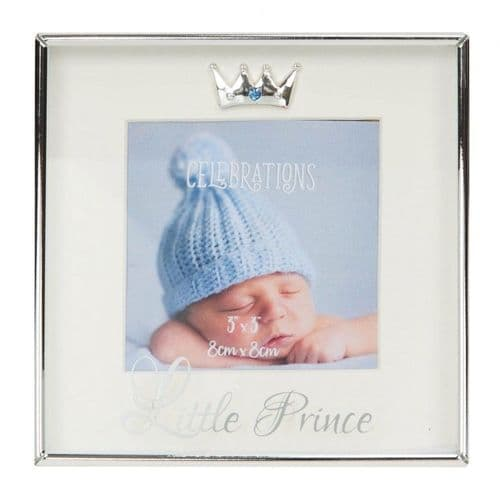 Little Prince Silverplated Box Frame