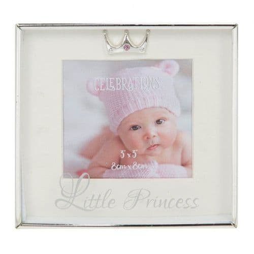 Little Princess Silverplated Box Frame