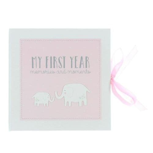 My First Year Record Book - Pink