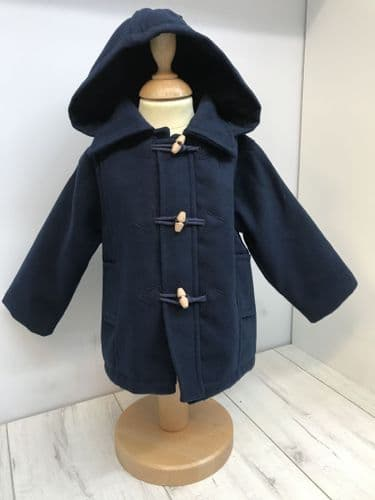 Navy Duffle Jacket