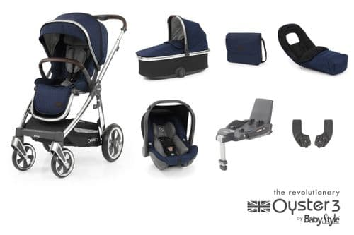 Oyster 3 & Capsule Luxury Package - Rich Navy