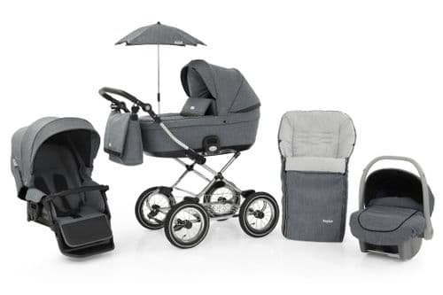 Prestige Misty Grey Travel System