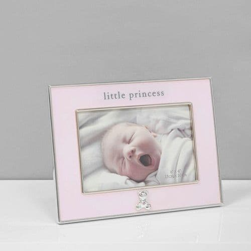 Silver Plated Pink Frame - Little Princess