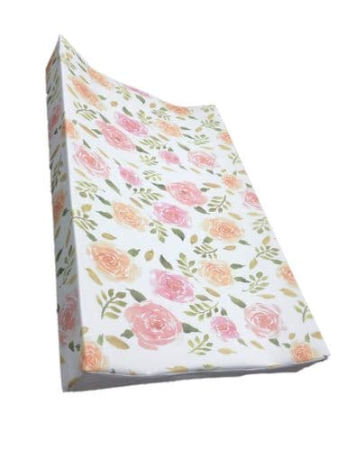 Wedge Changing Mat - Sea of Roses