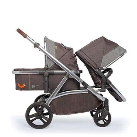 WOW XL Mister Fox Travel System for Siblings