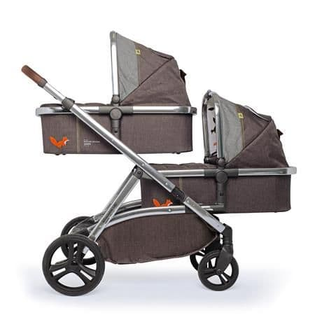 WOW XL Mister Fox Travel System for Twins