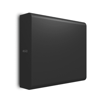 Apart SUBLIME Compact, Wall-mount Subwoofer - Black