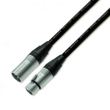 Professional Microphone Cable, XLR to XLR - 5m