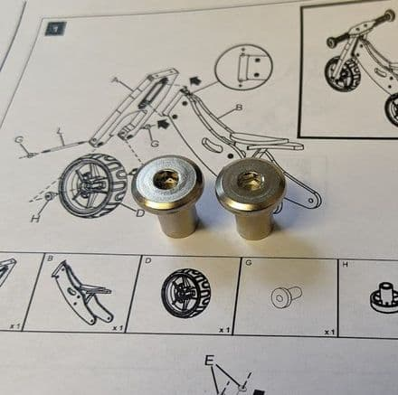 Pair of Part G Allen Key Nuts for Nicko Mini 2 in 1 Trike