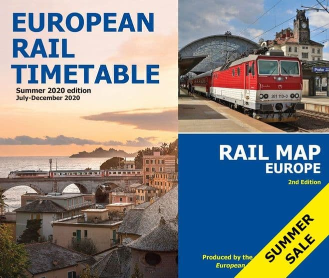 Summer 2020 and <br> Rail Map Europe BUNDLE