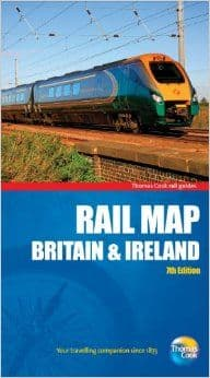 Thomas Cook Rail Map of Great Britain and Ireland 7th Edition (2011)