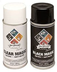 Clear / Black Magic