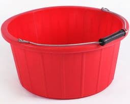 Red Feed Bucket