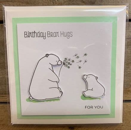'Birthday Bear Hugs For You'