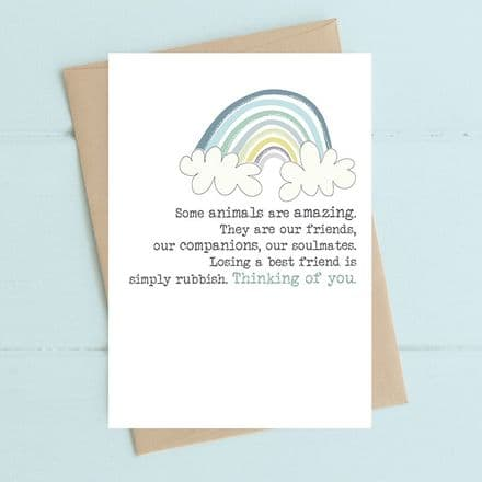 Animals are Amazing Thinking of You Card