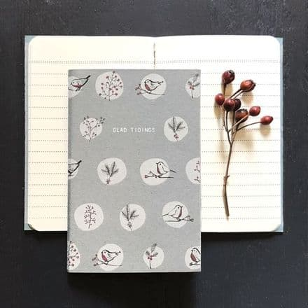 East of India Christmas Glad Tidings Notebook