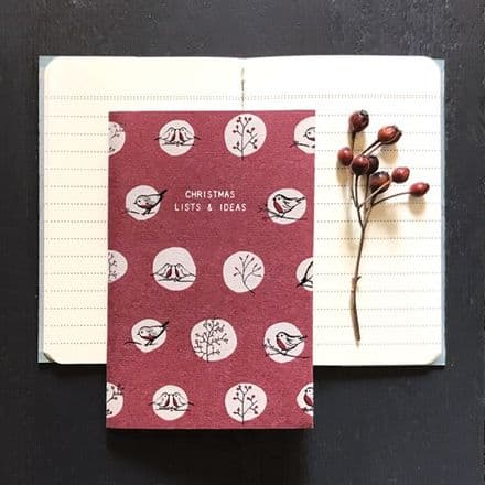East of India Christmas Lists & Ideas Notebook