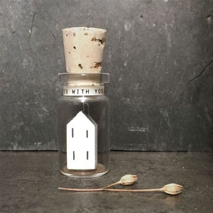 East of India Miniature Message Bottle