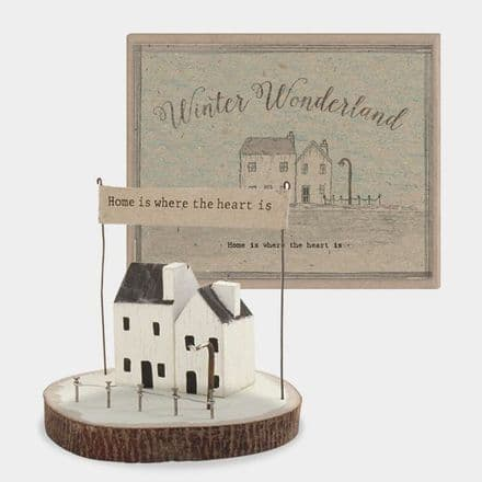 East of India Winter Wonder Land Home is Where the Heart Is