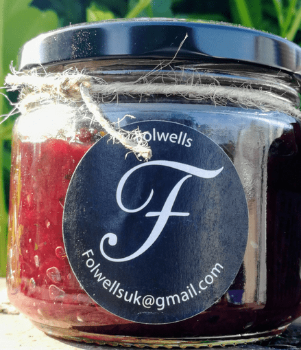 Folwells Beetroot and Mint Chutney
