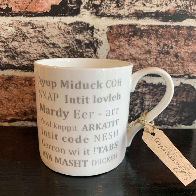 LetterJoy Local Dialect Mugs - The Soar Trading Co. Kegworth